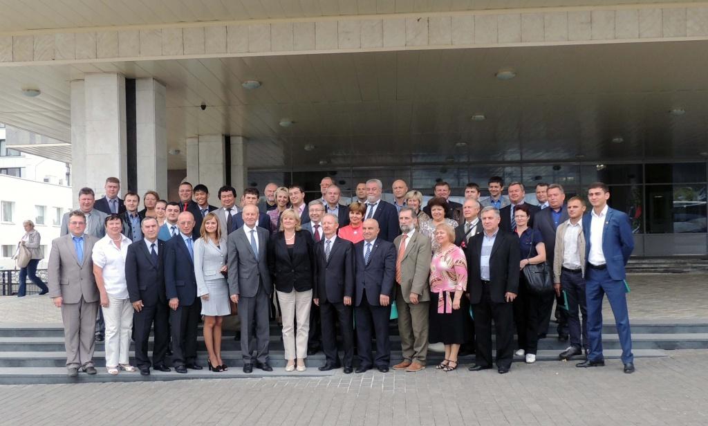 Делегация ВолГУ приняла участие в работе XXVI съезда Евразийской ассоциации профсоюзных организаций университетов