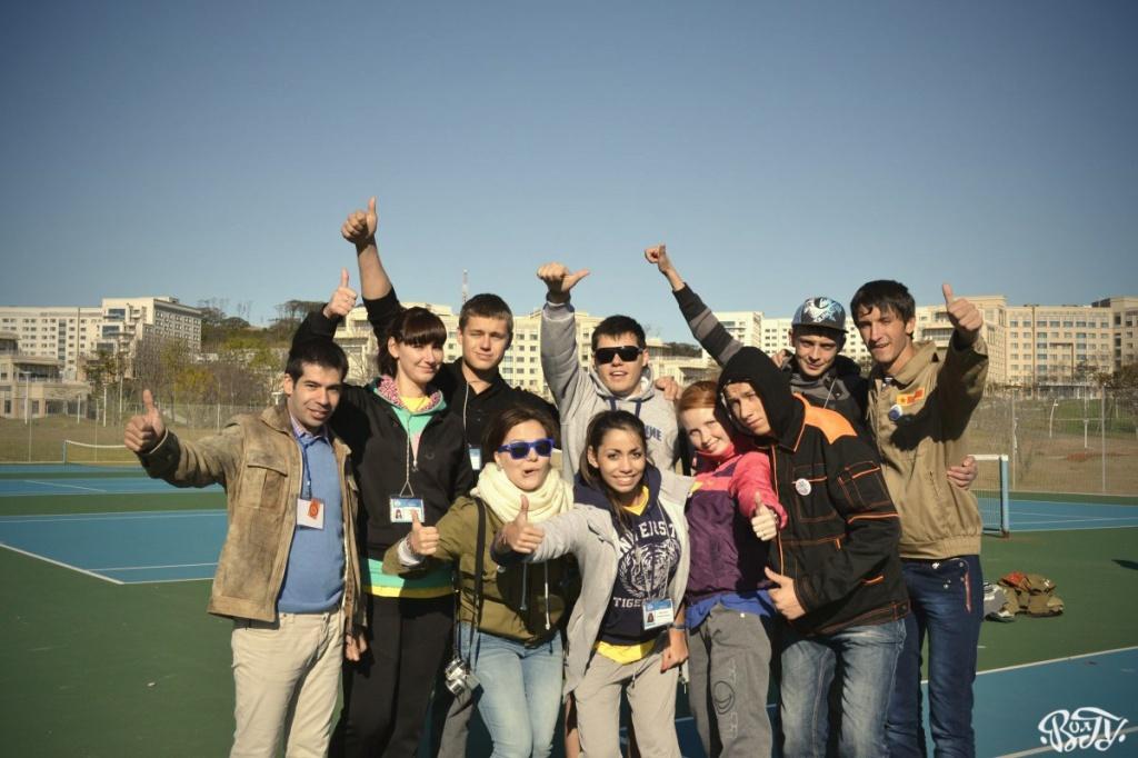 Бойцы студенческих отрядов отметили окончание трудового семестра