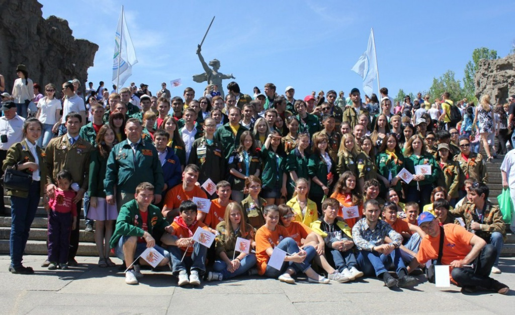 Студенческая акция, посвященная 70-летию Сталинградской битвы