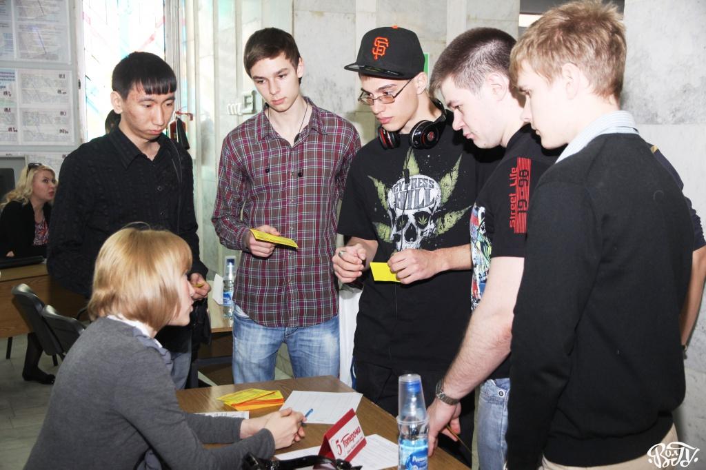 Ярмарка вакансий в ВолГУ